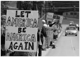 Let America be America again.